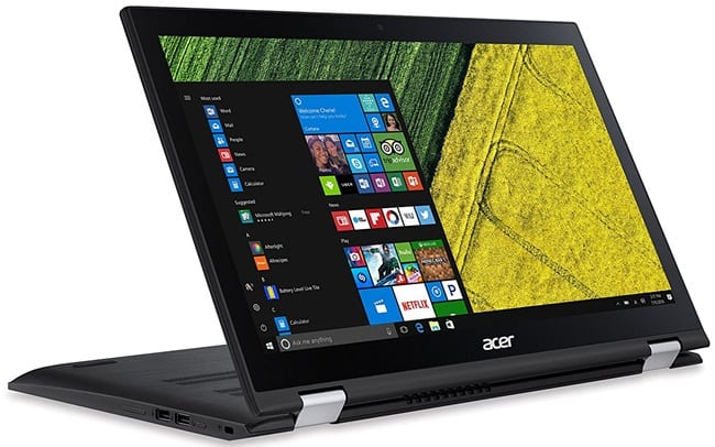 Acer Spin 3 SP315 - best cheap laptop for streaming videos