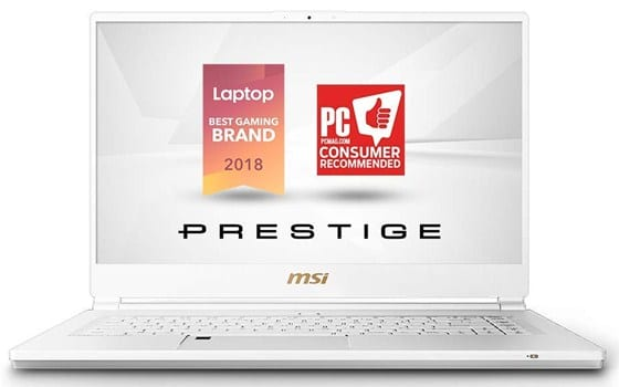 MSI P65 Creator - Best Laptop for 3D Modeling and Rendering