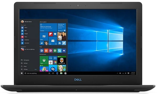 Dell G3 3579 - Best Screen Capture Laptop