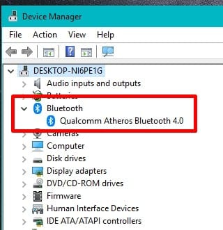 Device Manager - Can You Use Bluetooth Headphones on a Laptop