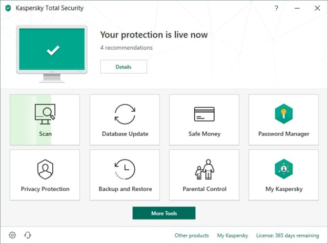 Kaspersky Total Security - Remove Virus, Adware, Malware, Ransom ware from your laptop