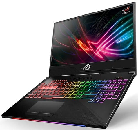 Asus ROG Strix Hero II - civ 6 laptop