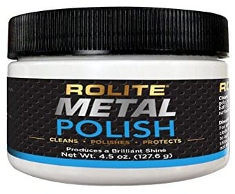 Rolite Metal Polish Paste - how to fix scratches on macbook pro