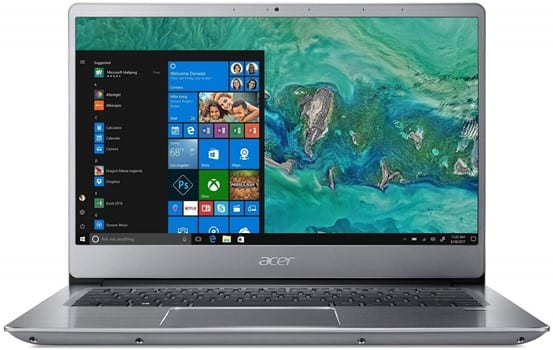 Acer Swift 3 SF314-54G-815P - laptop for interior design