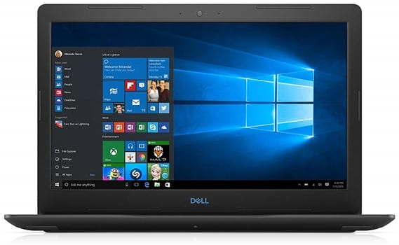 Dell G3 3579 - interior design notebook