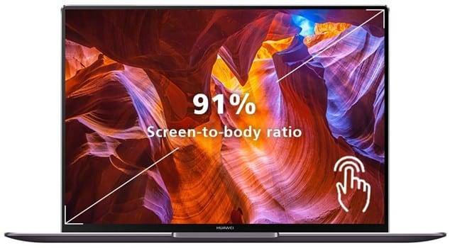 Huawei Matebook X Pro - best computer for interior design